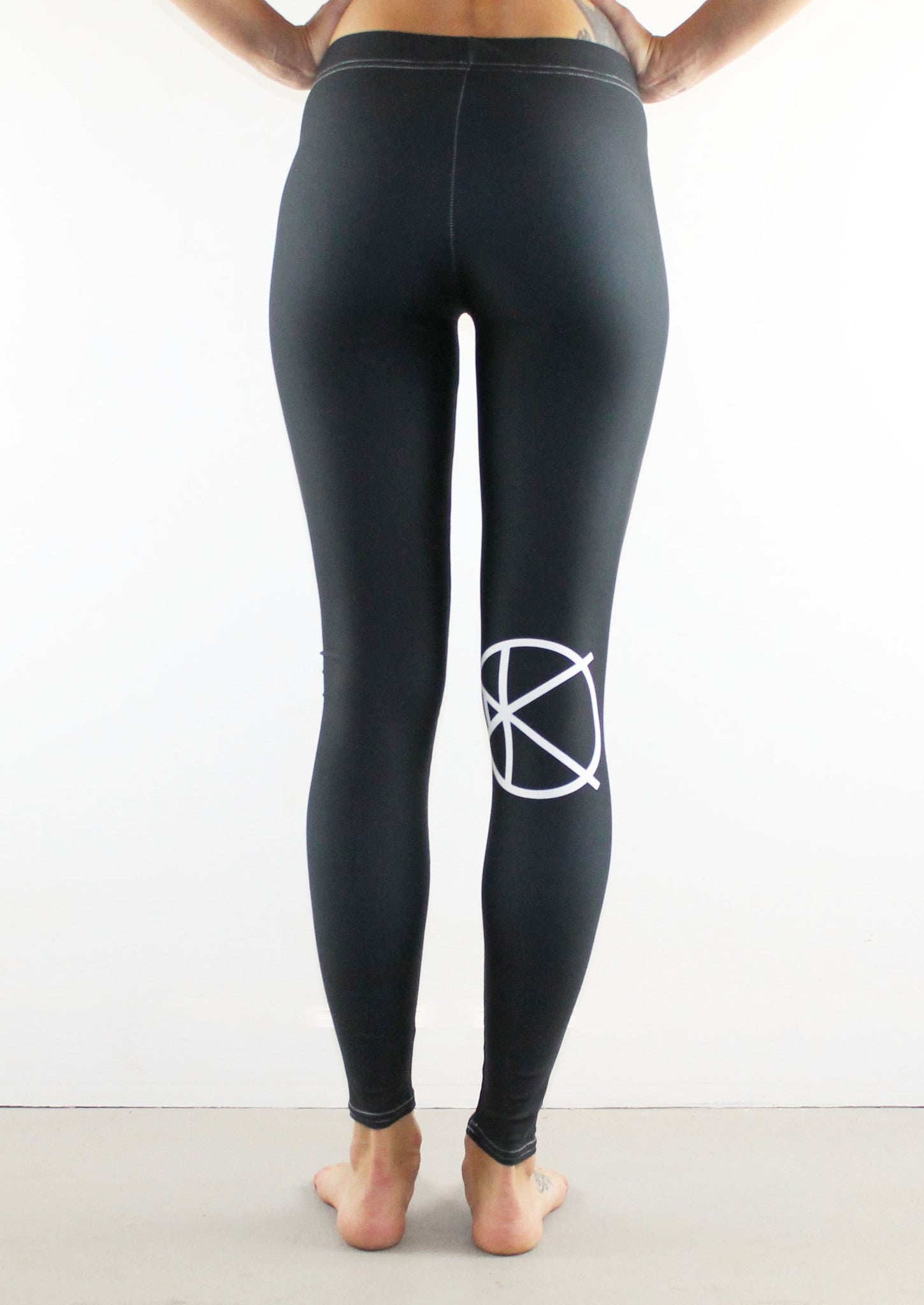 KOWASA Leggings // White on Black