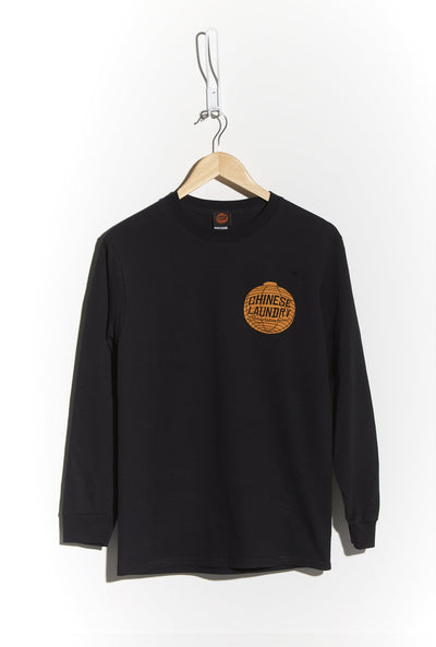 Lantern Tee Long Sleeve — Black