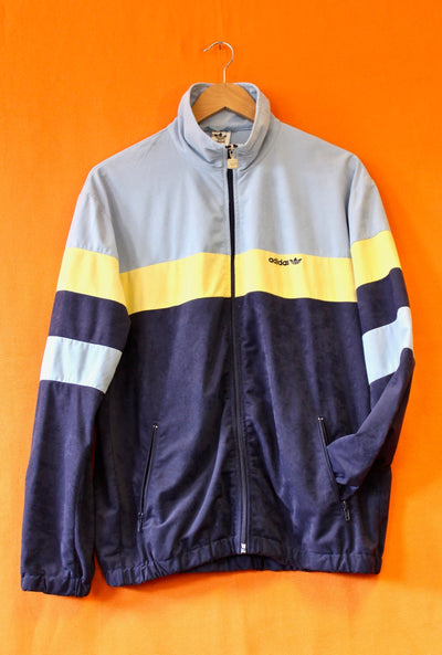 80s Adidas Velour Track Top
