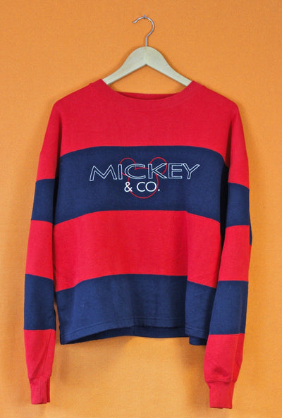 90s Disney Crop Sweatshirt