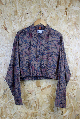Cropped Visco Shirt