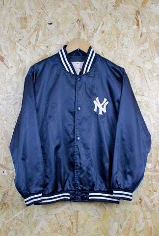 NY Yankees Satin Baseball Jacket