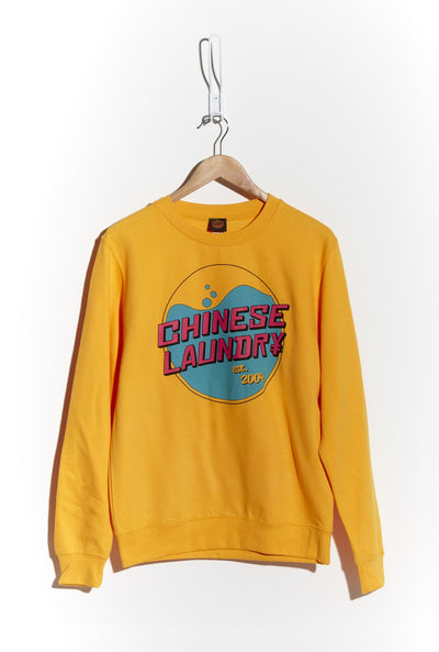 Wash Sweatshirt — Yellow