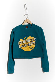 Wash Crop Sweatshirt — Jade