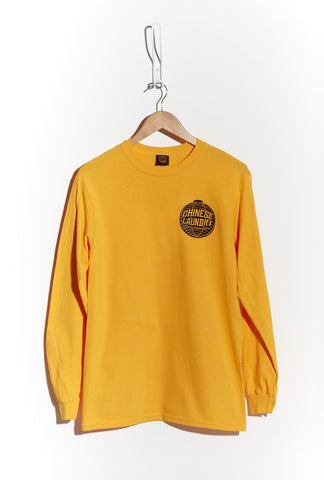 Lantern Tee Long Sleeve — Yellow