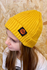 Kids Beanie – Yellow