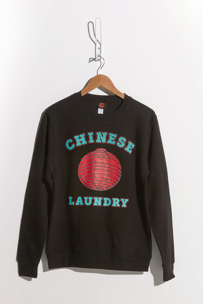 Team Chinese Laundry Sweatshirt — Black