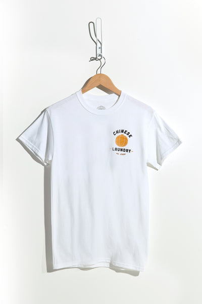 Pocket Lantern Tee – White