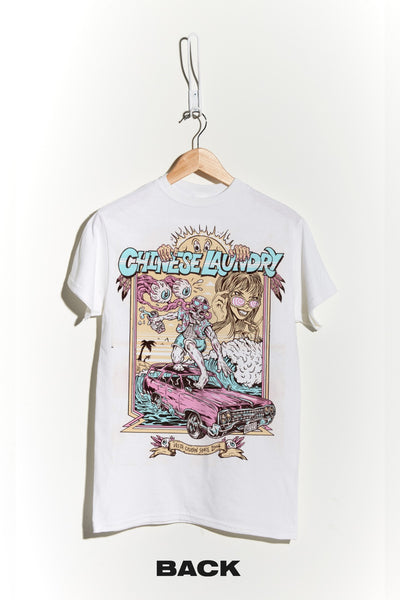 Vista Cruising Tee - White