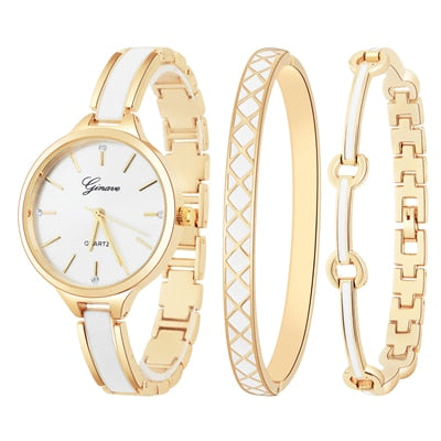 New Fashion Rhinestone Watches Women Luxury Stainless Steel Bracelet Watches Ladies Quartz Dress Wrist Watch Montres Femme Clock