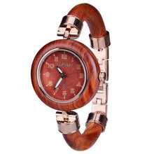 Load image into Gallery viewer, BEWELL Ladies Wood Band Female Quartz Watch relogio feminino DROPSHIPPING Brand Women Bamboo Watches Special Design Watch 151A