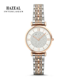 Switzerland HAZEAL Women's Watch Clock Japan Movement Watch Ladies Waterproof часы женские наручные Original Design montre