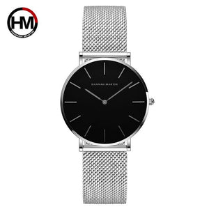 Woman Quartz Wrist Dress Watches Women Silver Bracelet Ladies Watch Stainless Steel Clock Casual Waterproof Relogio Feminino