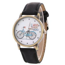 Load image into Gallery viewer, 2020 Han Edition On Bicycle Design Bracelet Watch New Speed Sell Tong Lazada Hot Style Ladies Cowboy With Table