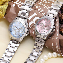 Load image into Gallery viewer, NARY Women Luxury Rhinestone Stainless Steel Quartz Watches Ladies Business Watch Japanese Quartz Movement zegarek damski