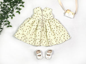 Bees and Daisies Baby Dress