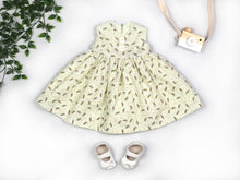 Load image into Gallery viewer, Bees and Daisies Baby Dress