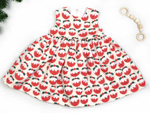 Load image into Gallery viewer, Christmas Pudding Baby Dress