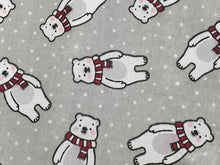 Load image into Gallery viewer, Polar Bear Christmas Baby Dress