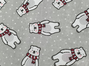 Polar Bear Christmas Baby Dress
