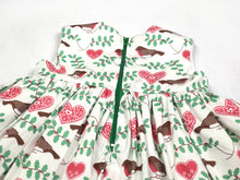 Load image into Gallery viewer, Robin Christmas Baby Dress