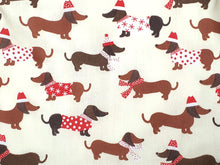 Load image into Gallery viewer, Sausage Dog Christmas Dress