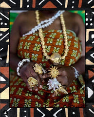 Ohene ni Ohemaa Necklace - Adinkra Jewelers