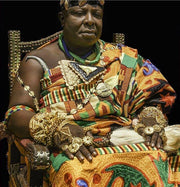 Asansatoɔ (Paramount Chief) Necklace - Adinkra Jewelers