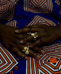 Mudfish Ring* Rings Adinkra Jewelers