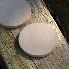 Load image into Gallery viewer, Disc - wooden circle / base - 6 cm / 60 mm diameter - EN71