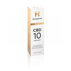 Bundle 4x CBD Gold with 10% CBD