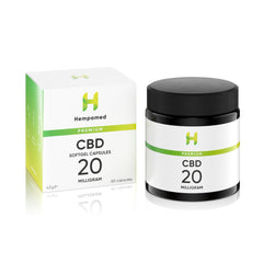 CBD Capsules with 20 mg CBD