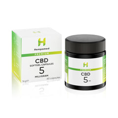 Capsules with 5 mg CBD