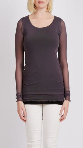 Mesh Top With Lining
