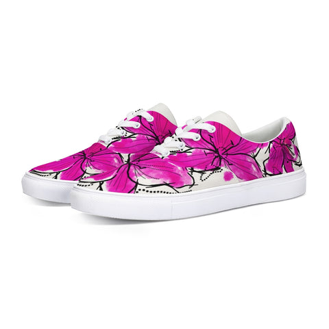 Abstract Watercolor Flower Classic Sneaker - Tattoo is Art - Apparel