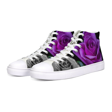 Roses High Tops - Tattoo is Art - Apparel