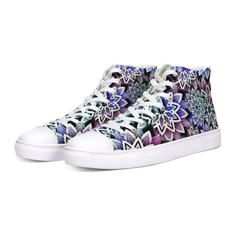 Mandala Colorgrade High Tops - Tattoo is Art - Apparel