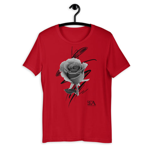 Abstract Rose - Unisex T-Shirt - Tattoo is Art - Apparel