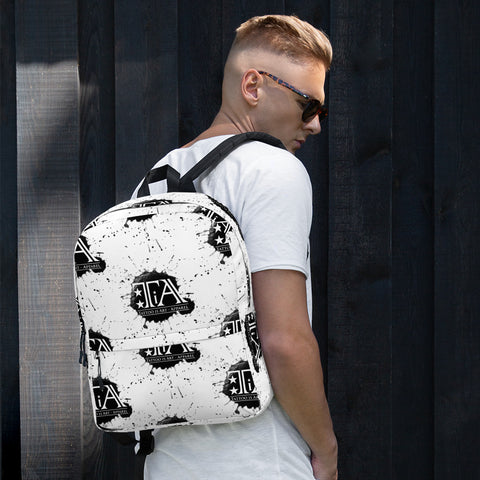 Backpack white - Tattoo is Art - Apparel