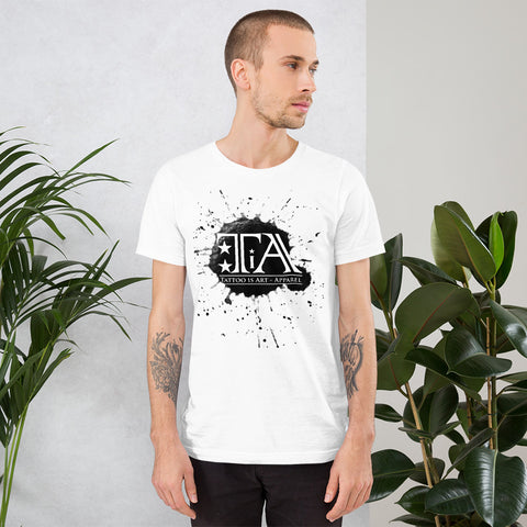 Splash Logo - Unisex T-Shirt - Tattoo is Art - Apparel