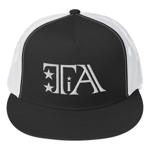 Trucker Cap (Logo white) - Tattoo is Art - Apparel
