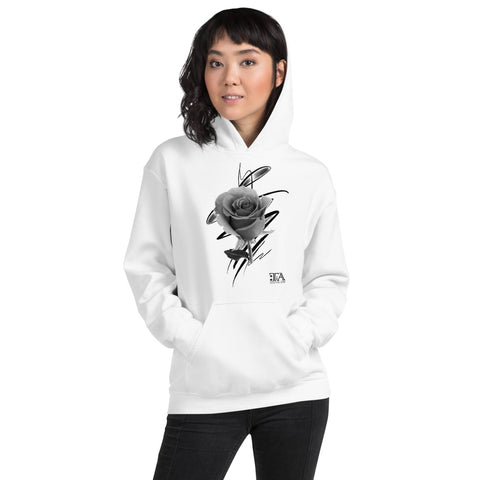 Abstract Rose - Unisex Hoodie - Tattoo is Art - Apparel