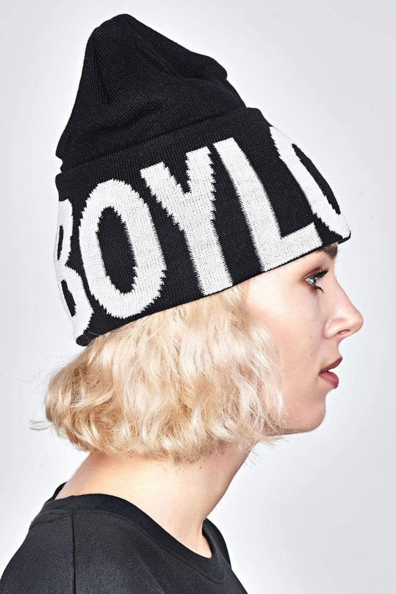BOY LONDON BEANIE HIGH TOP BEANIE