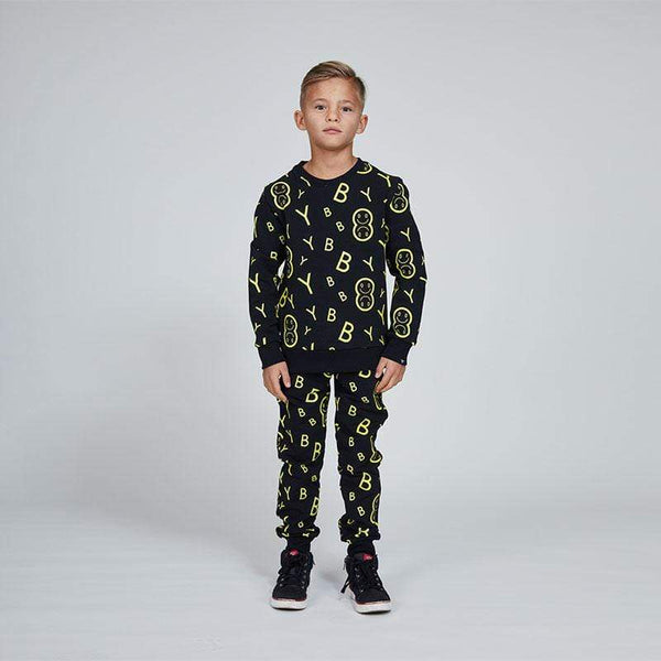 BOY London BOY ALL OVER EMOJI KIDS TRACKSUIT