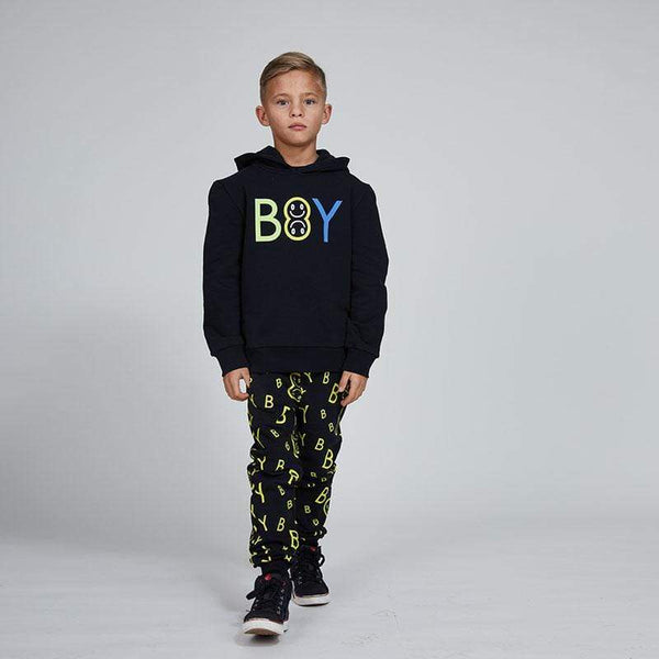 BOY EMOJI KIDS HOOD