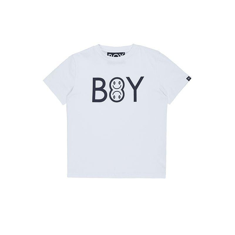 BOY London BOY EMOJI KIDS TEE WHITE/BLACK