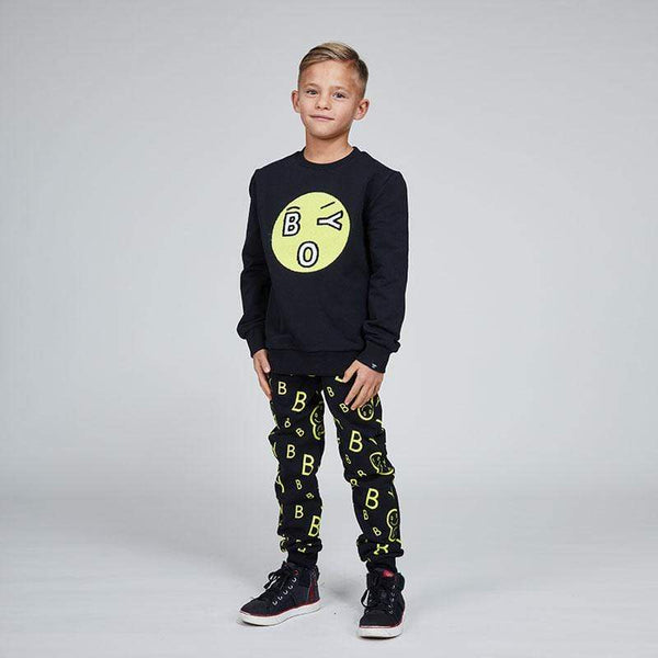 BOY London BOY KIDS TOWELLING EMOJI SWEAT