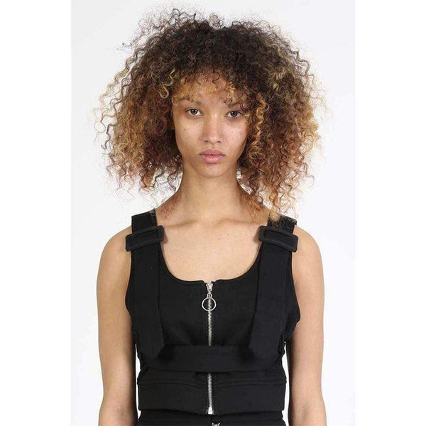 BOY LONDON CROP TOP BOY BY BOY - BONDAGE CROP TOP - COTTON