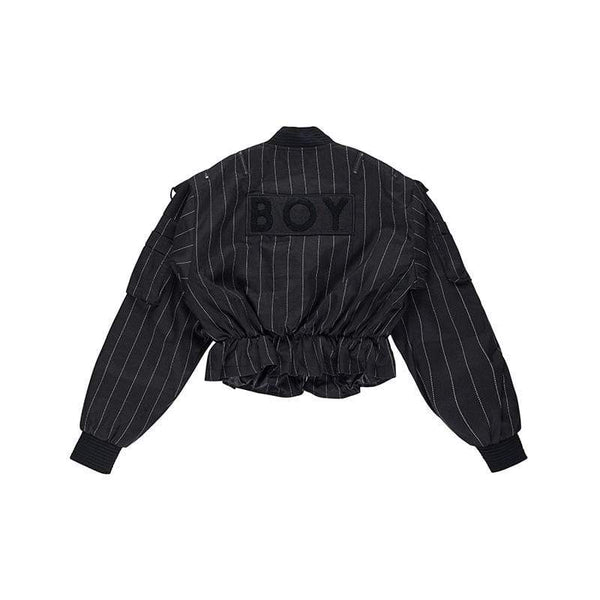 BOY LONDON JACKET BOY BY BOY - MILITARY CROPPED BOMBER