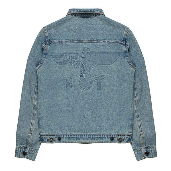 BOY LONDON JACKET BOY EMBOSSED DENIM JACKET